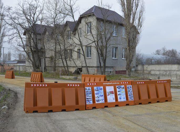 Водоналивные барьеры - фото 3